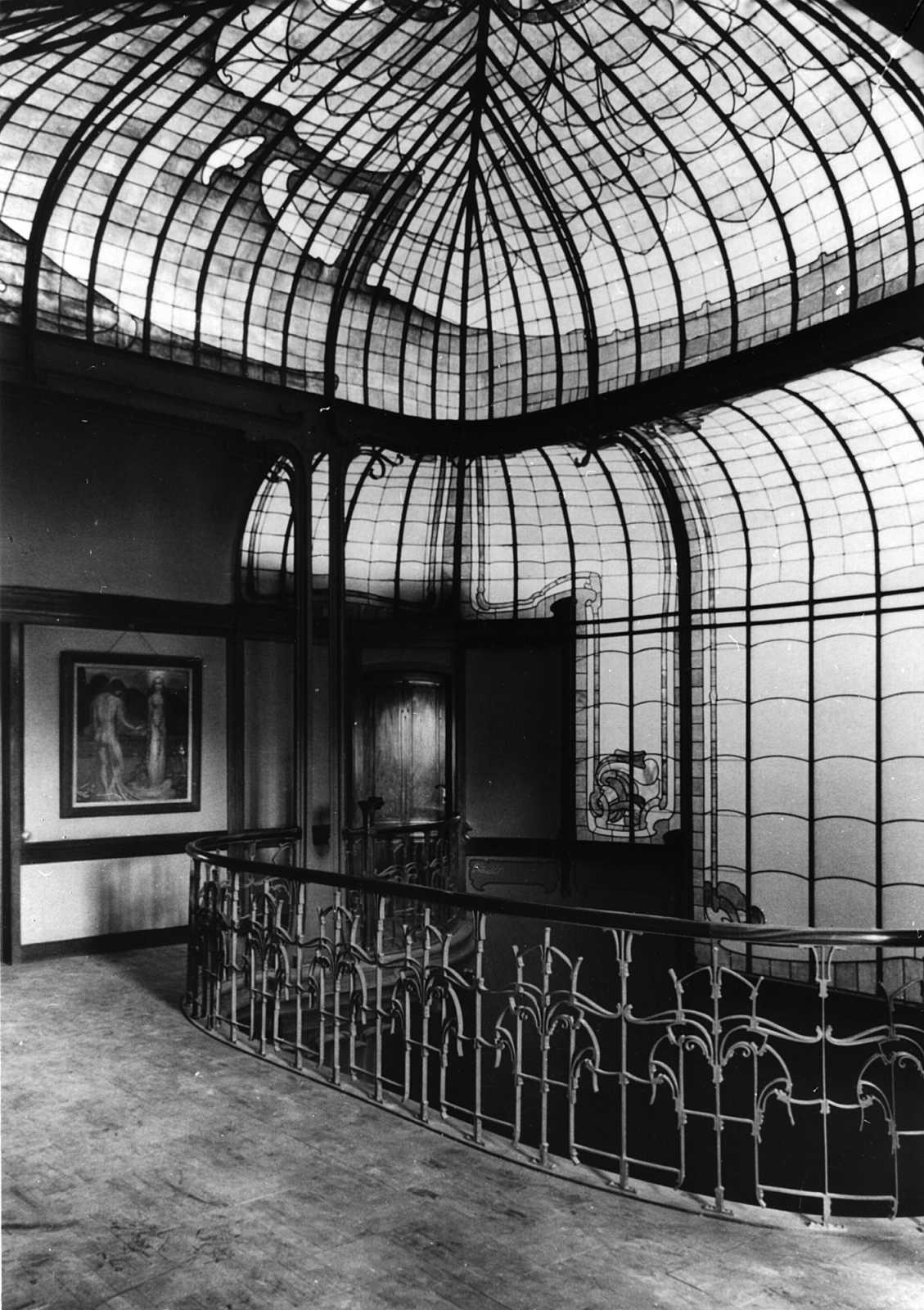 Art nouveau architectuur mus e fin de si cle museum for Architecture interieur bruxelles